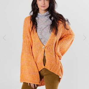 Free People Home Town Cardigan Sweater NWT Size S